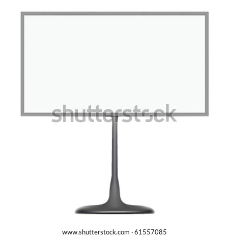 Silver Business Card Holder board in vector - stock vector