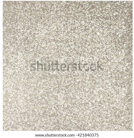Silver glitter background, shiny texture