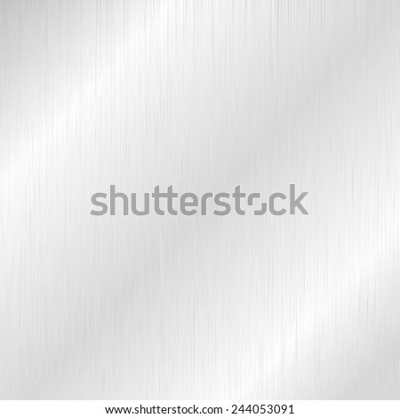 Silver metallic texture for background,Vector illustration - stock vector