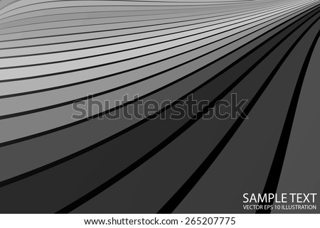 Silver vector abstract metal background illustration -  Vector abstract metallic background illustration template - stock vector