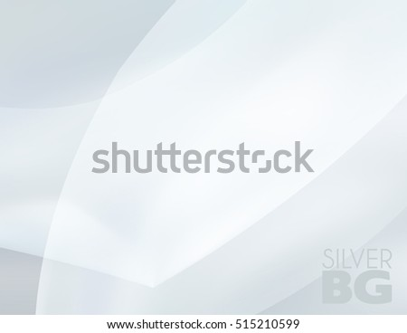 Silver wallpaper. Abstract blurred gray background. Grey vector graphic pattern