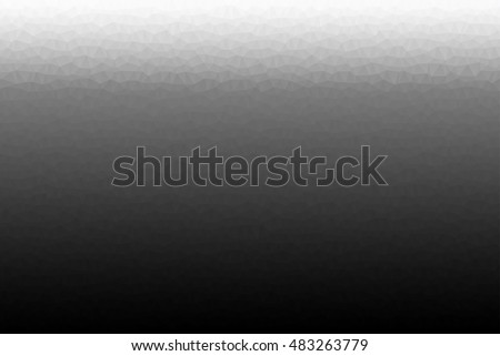 Simple abstract background vector in black and white, gradient from black to grey to white, different shapes.