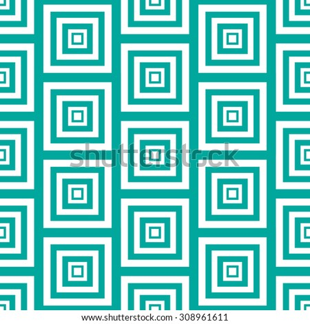 Simple Abstract Seamless Pattern Vector Illustration EPS10 - stock vector