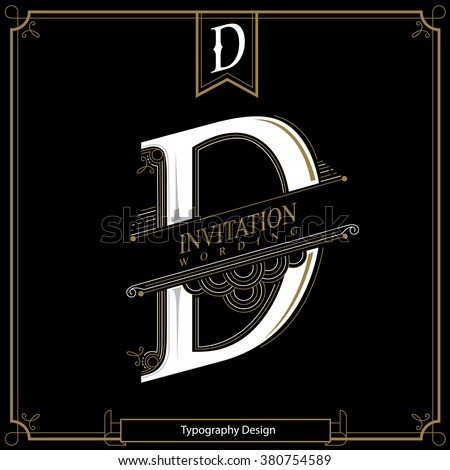 Monogram letter d stock images royalty free images vectors simple and elegant monogram design template with letter d vector illustration altavistaventures Image collections
