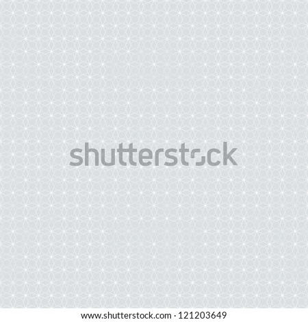 simple and elegant pattern with barely visible grey-silver geometrical shapes, website background or holiday wrapping paper or wedding invitation background seamless vector - stock vector