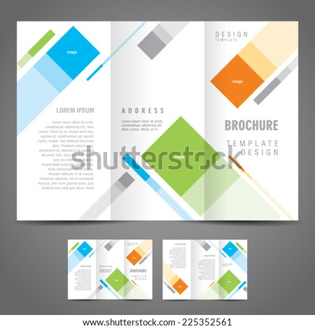 plain brochure template
