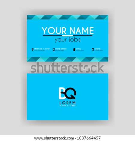 Simple business card initial letter bq stock vector hd royalty free simple business card initial letter bq stock vector hd royalty free 1037664457 shutterstock thecheapjerseys Gallery