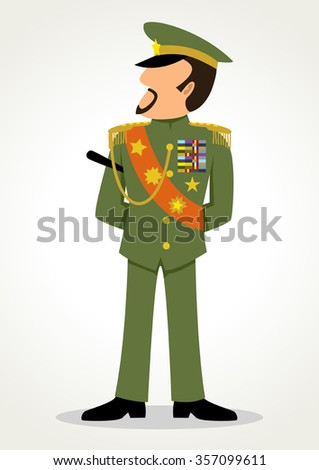 Military Dictatorship Clip Art