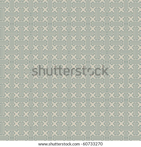 simple chinese pattern. - stock vector
