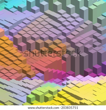 simple colorful background - stock vector