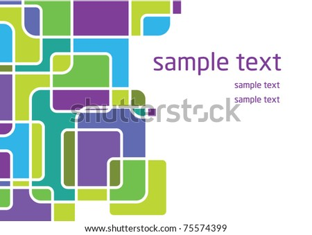 Simple design for anything - stock vector
