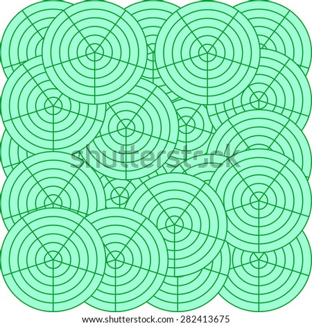 Simple eco background. Annual rings. Backgrounds & textures shop. - stock vector
