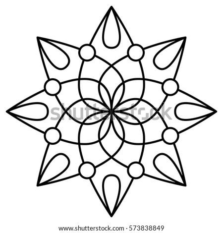 flower mandala stock images royalty free images vectors shutterstock. Black Bedroom Furniture Sets. Home Design Ideas