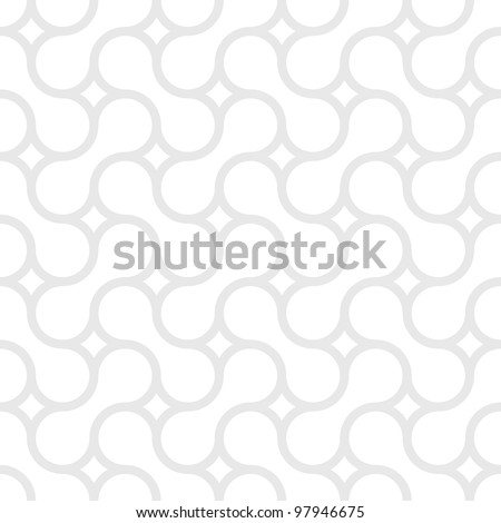 Simple geometric vector pattern - lines on white background - stock vector