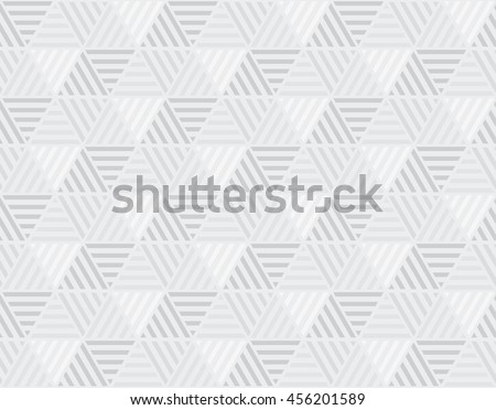 simple geometry light hexagon pattern. vector illustration of geometric seamless motif for background - stock vector
