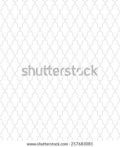 Simple gray and white pattern. Geometric pattern, seamless - stock vector