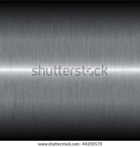 simple gray steel texture background - stock vector