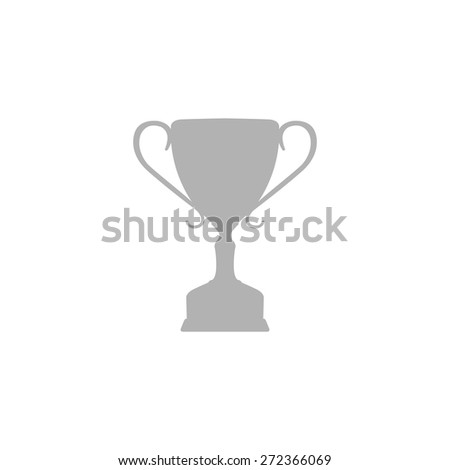 Simple icon Cup winner. - stock vector