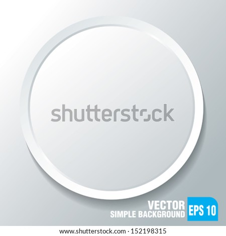 simple light background - stock vector