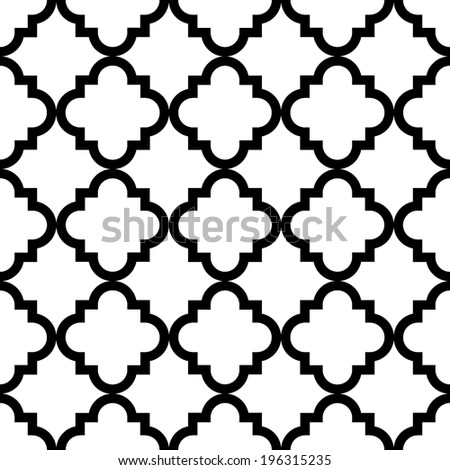 simple rhombus pattern - stock vector
