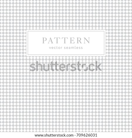 Simple Rhombus Seamless Pattern Light Collection Stock Vector HD ...
