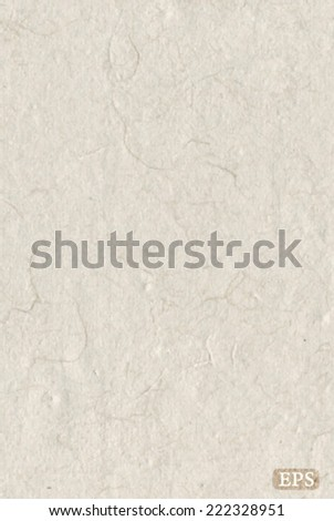 Simple rice paper texture background - stock vector