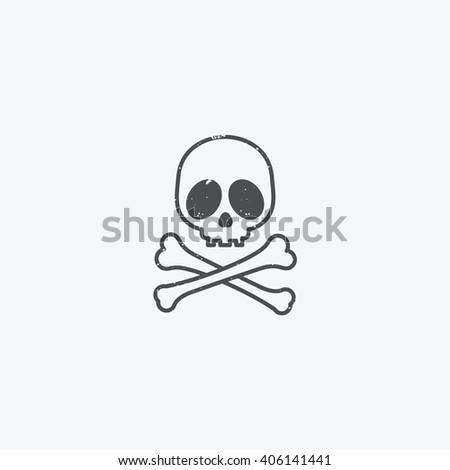 Skull Crossbones Vector Illustration Stock Vector ...