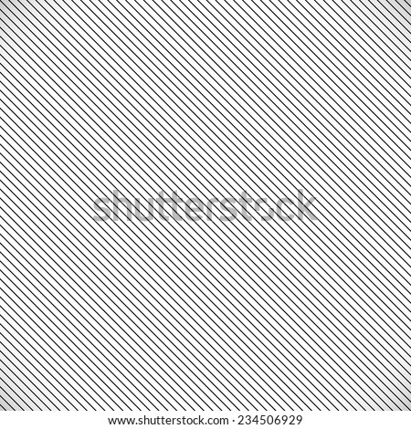 Simple slanting lines over shaded backdrop - stock vector