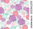 Simple spring floral seamless pattern. - stock vector