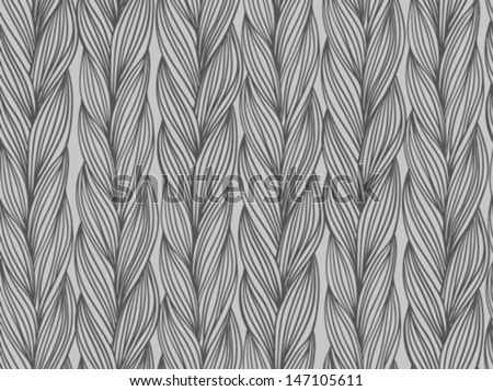 Simple, woven vector seamless pattern with stylized sweater fabric. Texture for web, print, wallpaper, fall winter fashion, textile design, website background, holiday home decor, wedding invitation - stock vector