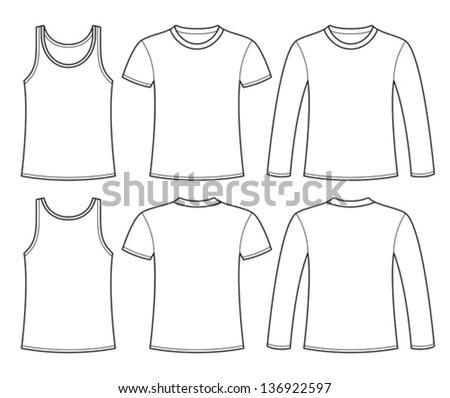 long sleeve t shirt template pdf