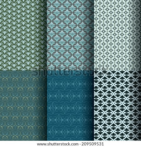 six seamless patterns