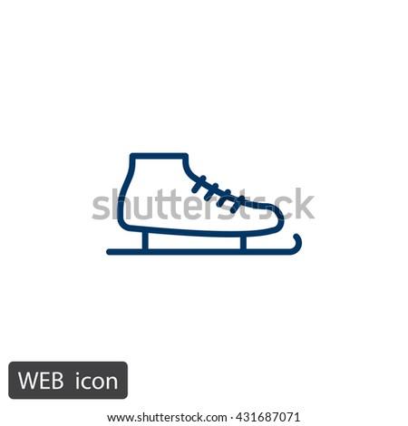 Skates Icon. Skates Icon Vector. Skates Icon Art. Skates Icon eps. Skates Icon Image. Skates Icon logo. Skates Icon Sign. Skates Icon Flat. Skates Icon design. Skates icon app. Skates icon UI - stock vector