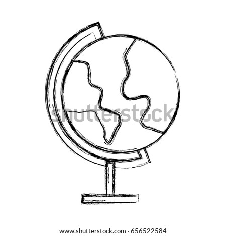 Sketch draw world map cartoon vectores en stock 656522584 shutterstock sketch draw world map cartoon gumiabroncs Image collections
