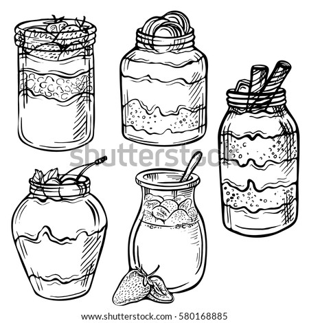 Mobile Coloring Page Ice Cream Parfait Coloring Pages