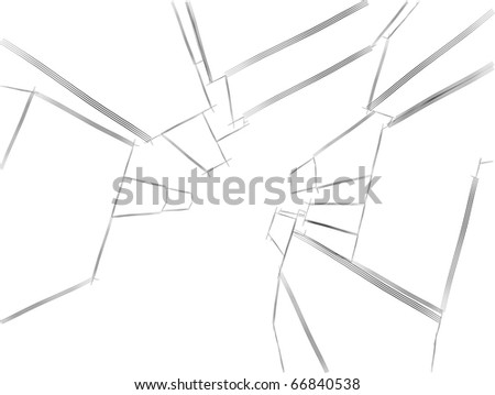 sketch of urban architecture of the future - stock vector