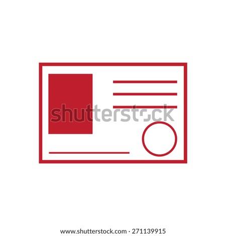 skip icon, vector illustration. Flat design style - stock vector