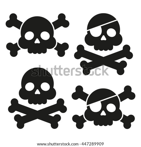 Skull And Crossbones Icon Png | www.pixshark.com - Images ...