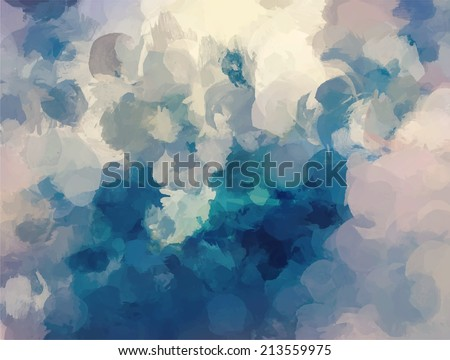 Sky abstract background - stock vector