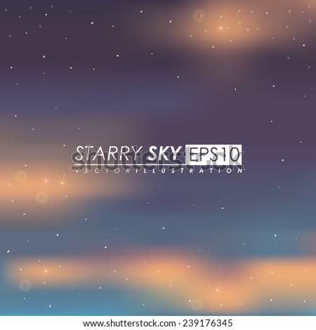 Sky design,vector illustration. - stock vector
