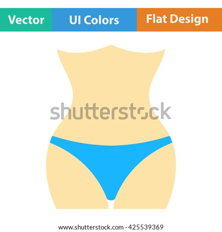 Slim waist icon. Vector illustration. Slim waist icon design. Slim waist icon sign. Slim waist icon pictogram. Slim waist icon vector. Slim waist icon symbol. Slim waist icon element. Slim waist  - stock vector