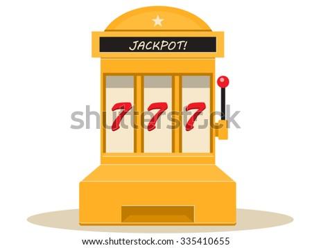 Slots Machine - stock vector