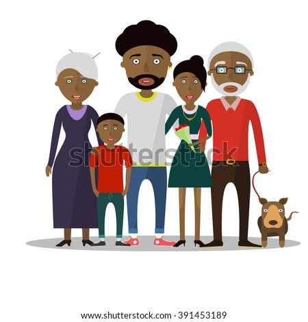 Small boy, woman and man happy family couple. Women and men in love, modern family, families with baby kid. Modern family portrait. Typical family. People couple, people family together concept Vector - stock vector