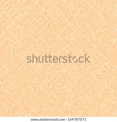 Small ditsy vector pattern with scattered dots in organic colors. Seamless texture like sand or cork for web, print, gift wrapping paper, website wallpaper, spring summer fashion, textile design. - stock vector