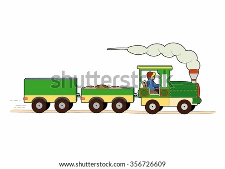 Small freight train