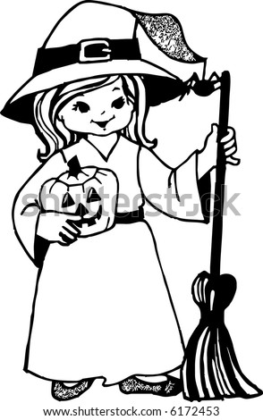 Small Halloween Witch