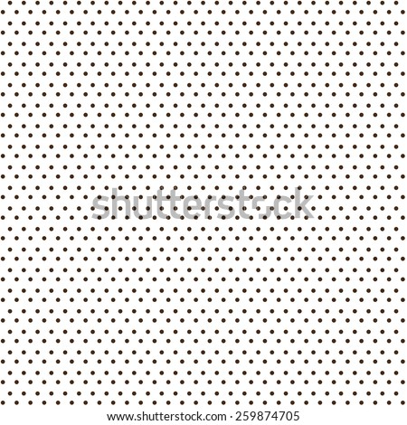 Small polka dot background - stock vector