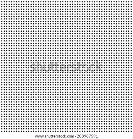 small repeating symmetrical dots - vector - stock vector