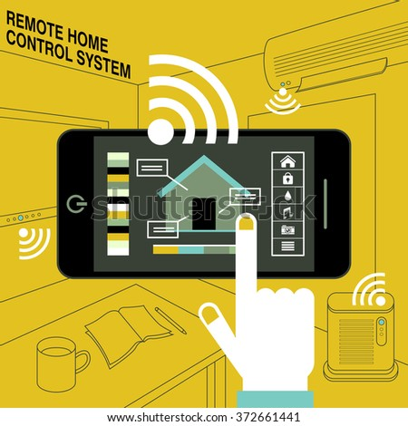 Home Automation Stock Images Royalty Free Images Vectors Shutterstock