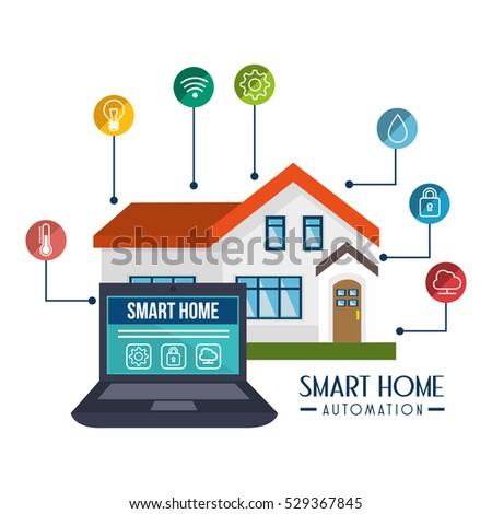 Smart Home Technology smart home technology icon stock vector 529367935 - shutterstock